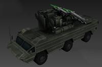 3d tank panzer