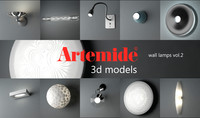 artemide wall lamps volume 2 max