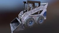 skid steer loader 3ds