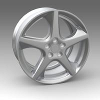 wheel fbx