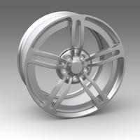wheel 3d x