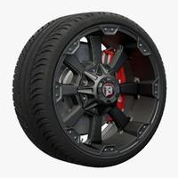 morax wheel 3d model