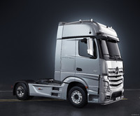 3d mercedes-benz actros truck