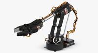 al5d robotic hand 3d model