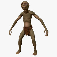 3d model goblin creature