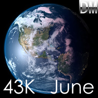 3d earth june
