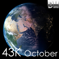 3d earth october