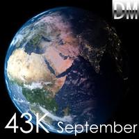 3d model earth september