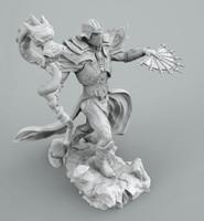 3d mag dragon model