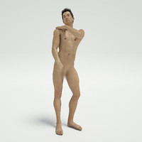 sexy nude guy post 3d x