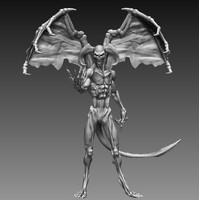 3d zbrush sculpted ztl