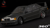 3d mercedes-benz 190e evolution ii model