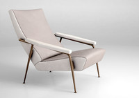 molteni armchair gio 3d model