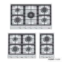 miele gas cooktops 3d model