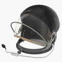 advanced crew escape helmet 3d max