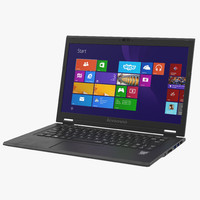 3d laptop lenovo lavie z model