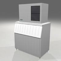 3d model ice maker machine