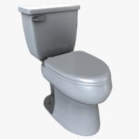 toilet 01 3d max
