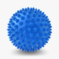 realistic massage ball 3d max