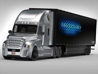 3d freightliner truck model