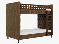 chesterfield bed 3d model