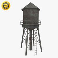 Water Tower (weathered)