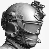 US Special Force Soldier Zbrush