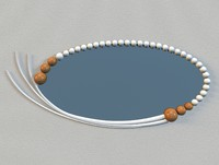 3d model elephant tooth mirror