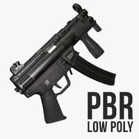 mp5k polys 3d max