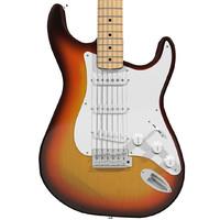 guitar fender strat c4d