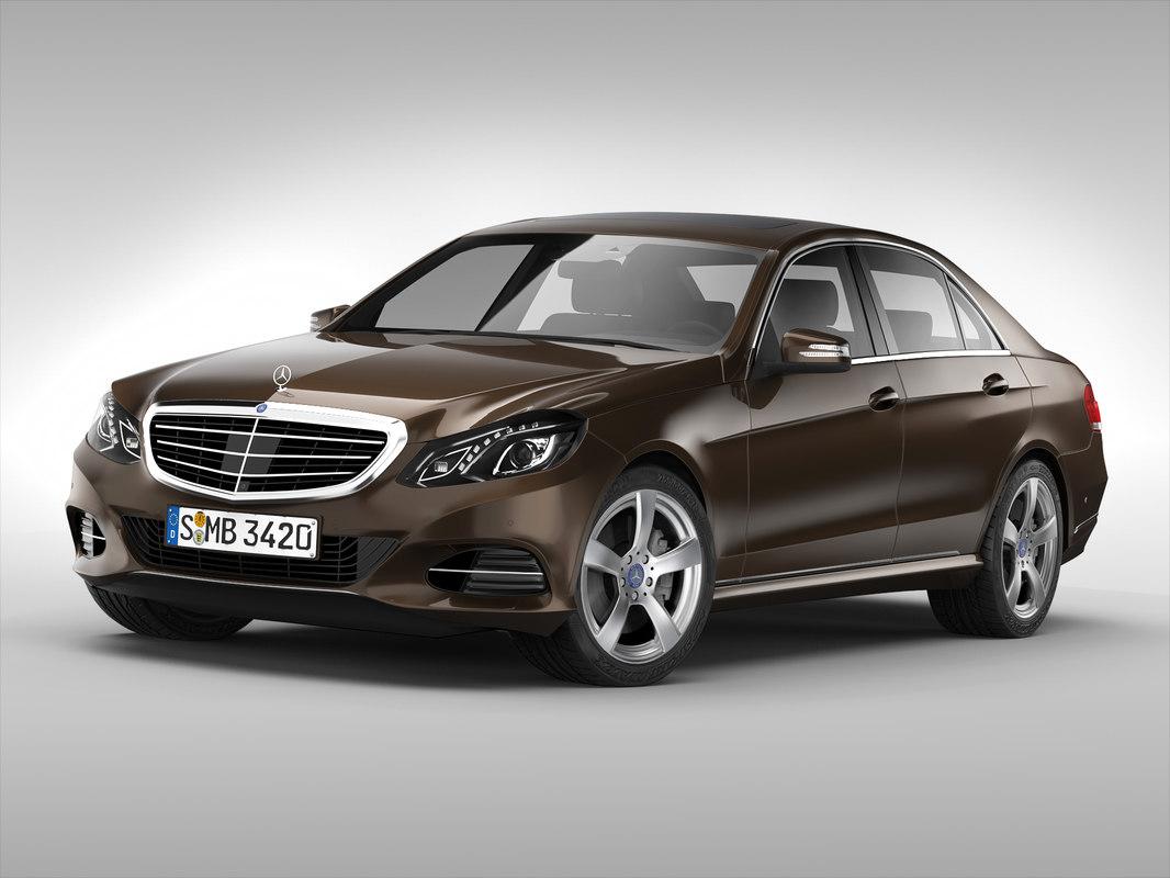 Mercedes Benz E Class (2014) - 1.jpg