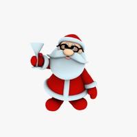 3ds max printing funny santa