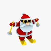 3d printing funny santa