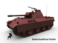 3d max artillery vehicle