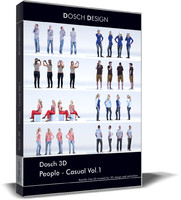 3d: people - casual dxf