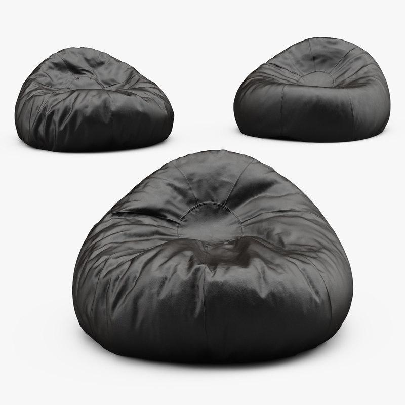 Grand Leather Bean Bag Chair_01.jpg