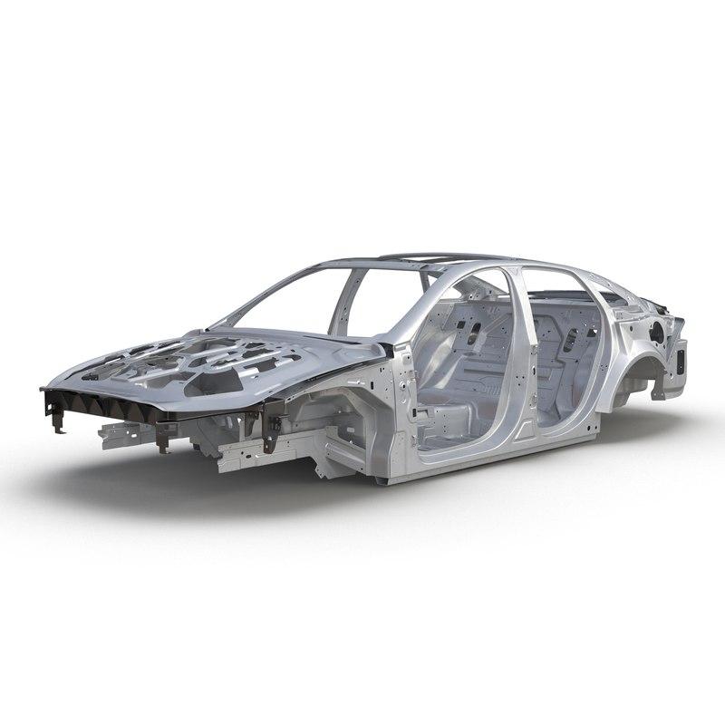 3d model of Car Frame 01.jpg