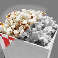 Popcorn_3dsmax