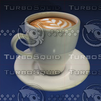 mode coffee cup 3d model