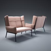3d model beau-fixe-sofa