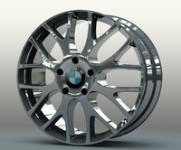 original m series rim wheel 3d model