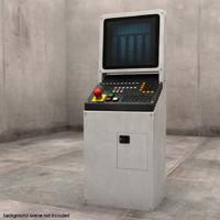 photorealistic control computer 3d obj