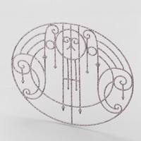 decorative wrought iron lattice obj