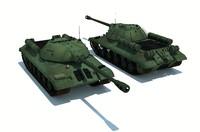 3ds tank joseph stalin iosif