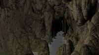 Cave Interior Scene