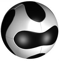 3d soccer ball 2010