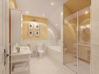 bath room 3d model