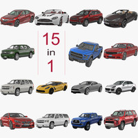 3d model cars big