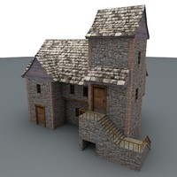 Lowpoly MHouse 1a