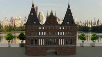 holstentor 3d model